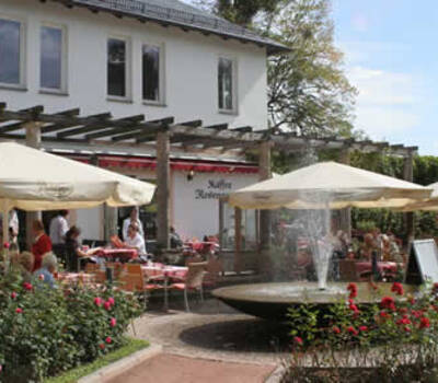 Beispiel: Vorderseite, Foto: Kaffee Rosengarten.