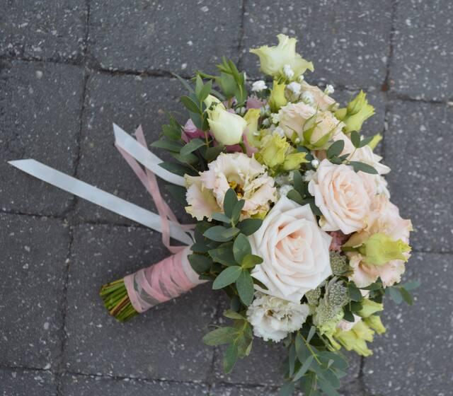 Fleurambulle - Bouquet mariage champêtre romantique