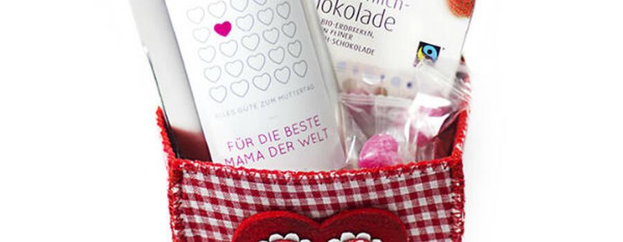 Beispiel: Muttertagsset, Foto: DeinBonbon.