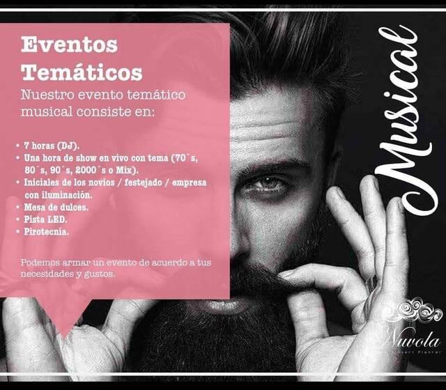 #EventosTemáticos #Nuvola #Musical