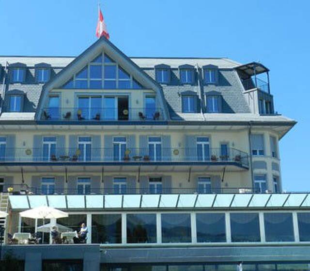 Beispiel: Außenansicht, Foto: Belvédère Strandhotel & Restaurant.