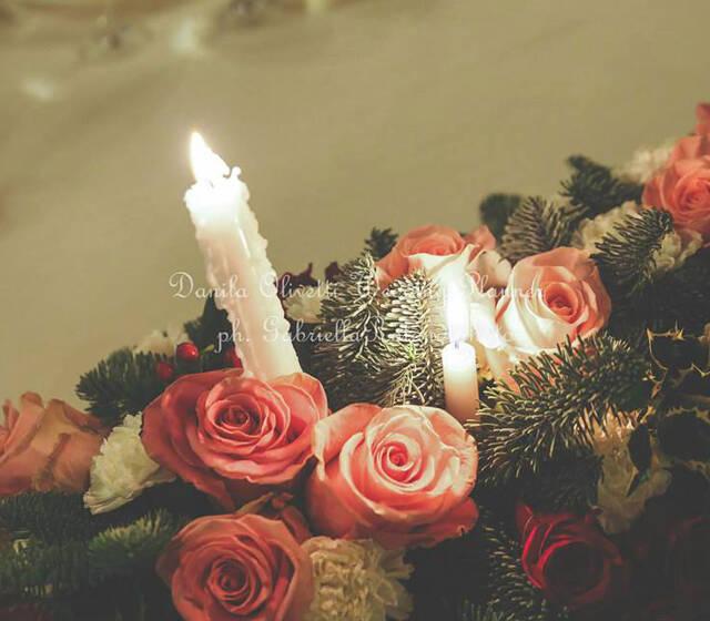 Danila Olivetti - winter wedding - dettaglio tavolo d'onore
