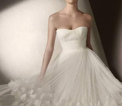 Beispiel: Brautmoden, Foto: Samaras Brautmoden.