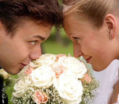 Beispiel: Brautpaar, Foto: Sweethearts Wedding.