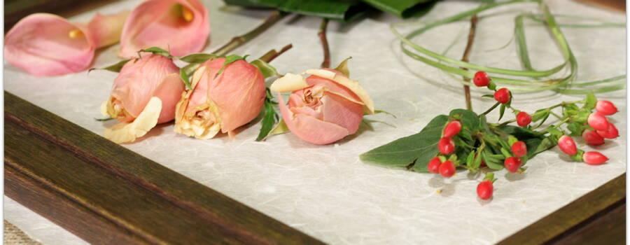 Personaliza el cuadro de tu ramo de novia.