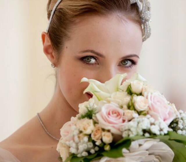 Beispiel: Braut, Foto: Hochzeitsorganisation Barbara Donabauer.