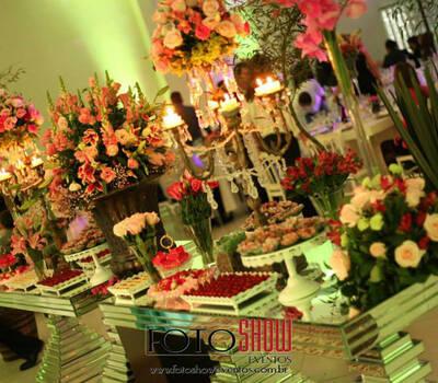Buffet Recanto. Foto: Show Eventos
