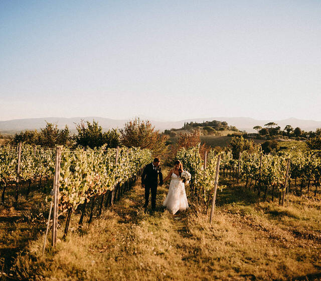 Elena & Luciano Tuscany Wedding
