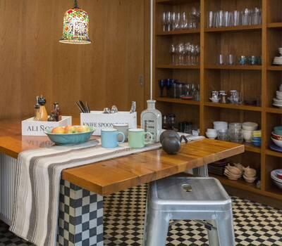 Una cocina con detalles