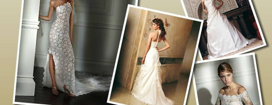 Beispiel: Brautkleider, Foto: Traumbraut.