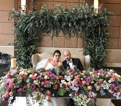 AM Coach Planner (Boda)  D. Floral Protea Diseño Floral (Lucy Gonzalez)