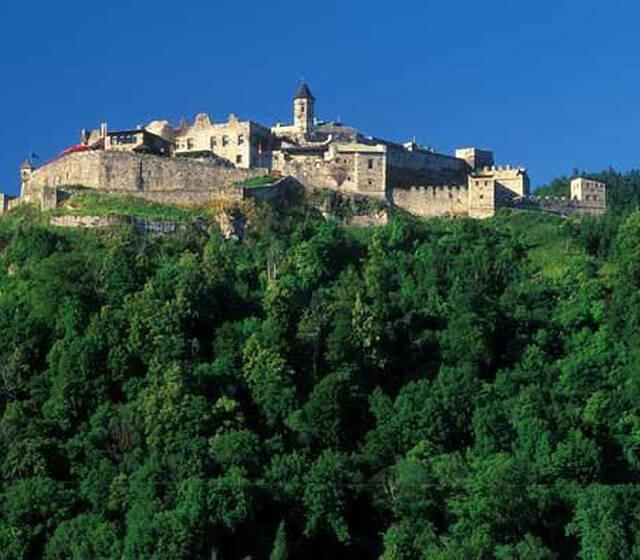 Beispiel: Außenansicht, Foto: Burg Landskron.