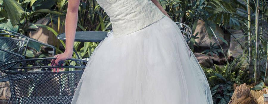 Beispiel: Brautmode, Foto: rikewinterberg.
