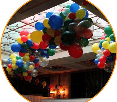 Beispiel: Ballonwolke, Foto: Babalooni's Fantasy Laden.