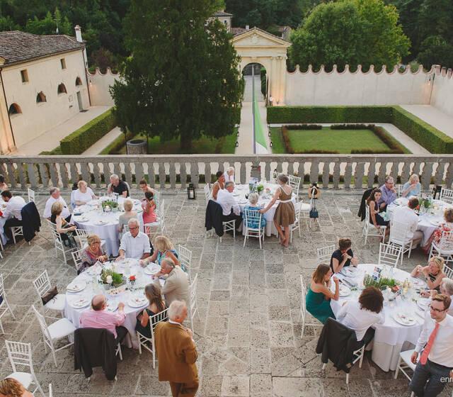 matrimonio in villa dei Vescovi