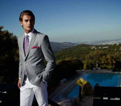 Klasyka, męska moda ślubna