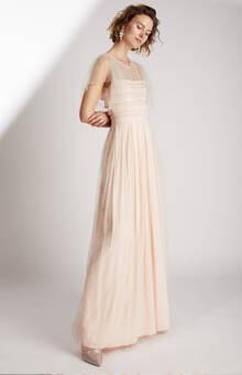 Robe de mariée longue plissée a volants de tulle éthique et sur-mesure Heaven  - Myphilosophy Créatrice de robes de mariée