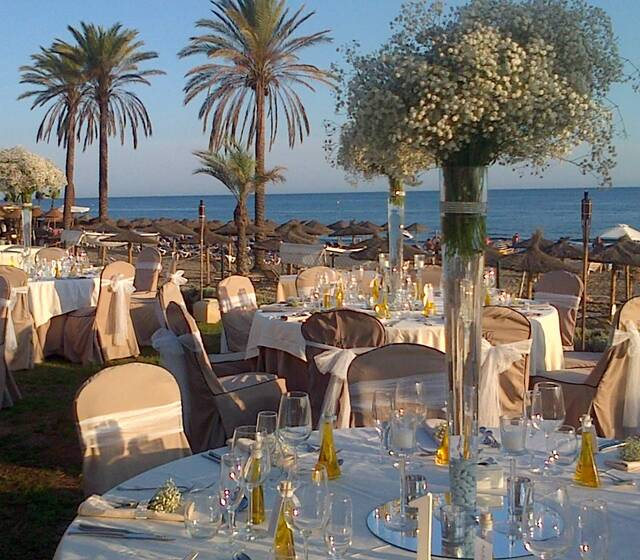 Banquete Boda Terraza Beach Club