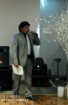 MAESTRO DE CEREMONIA / ANIMADOR SHOW EN EL HOTEL MARRIOTS
