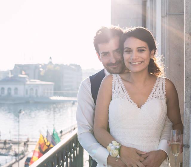 Amédézal® mariage copte Genève Four seasons