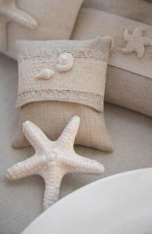 sacchettini con inserti in ceramica