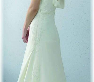 Beispiel: Brautkleid, Foto: Brautmoden JAHN Brandenburg.