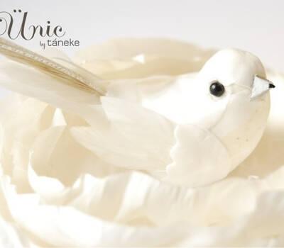 Táneke - tocado Bridal bird