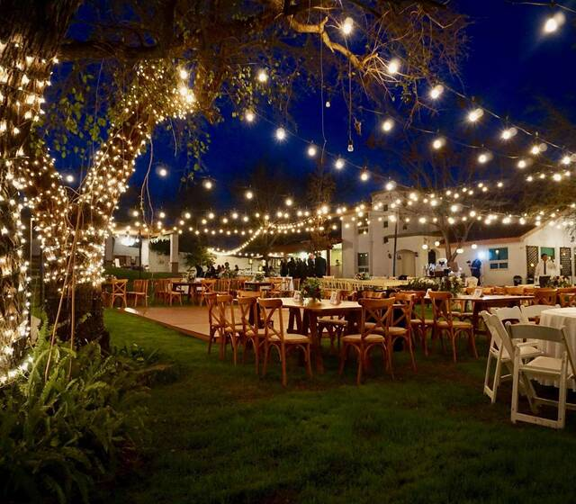 Jardin con iluminacion incluida