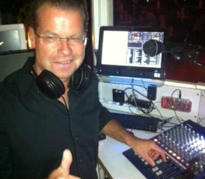 Beispiel: Bei der Arbeit, Foto: DJ Sigi.