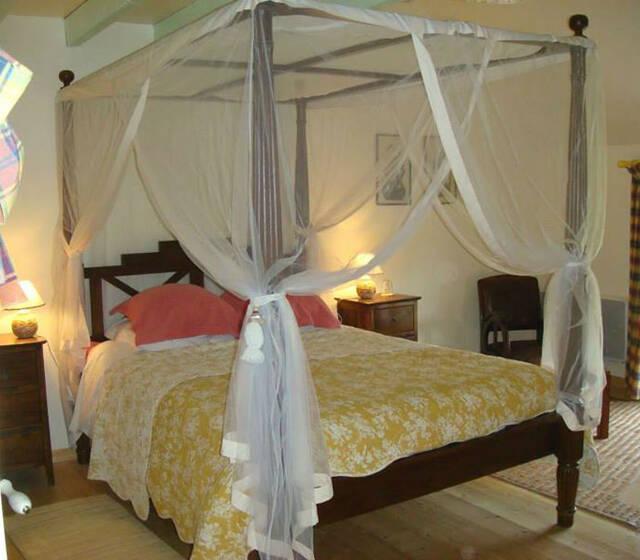 """la petite suite """"Exotique"""" : chambre d'hôtes avec mezzanine"""