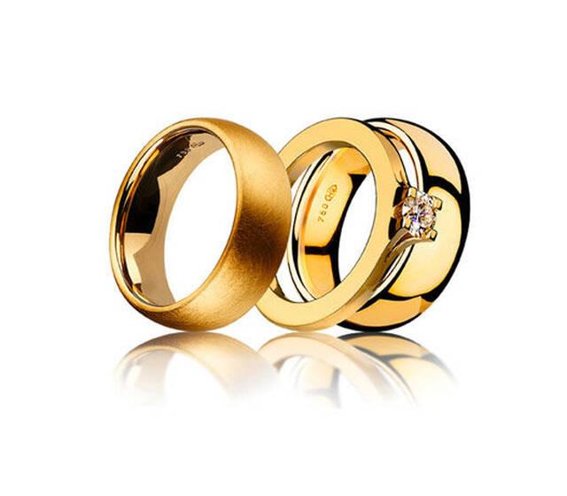 Beispiel: Ringe für das ganze Leben, Foto: Bijoux Stadelmann.