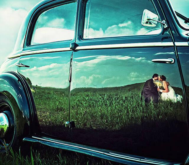 Kreative Hochzeitsbilder Foto: Photodesign Radloff.