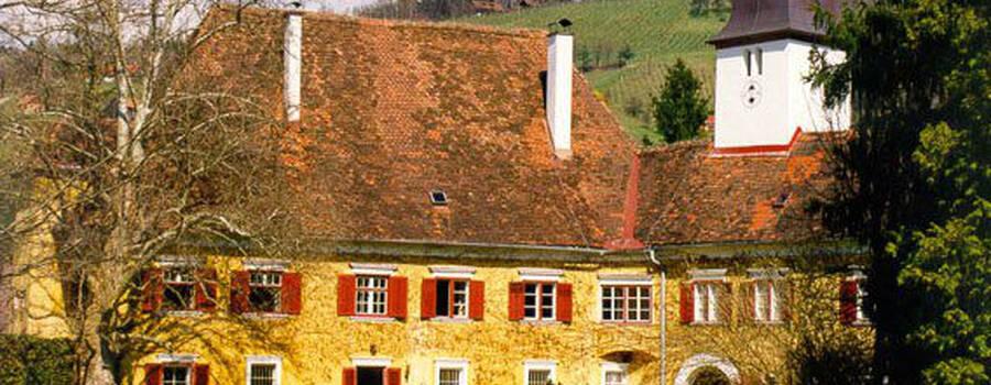 Beispiel: Schloss Ottersbach, Foto: Schloss Ottersbach.