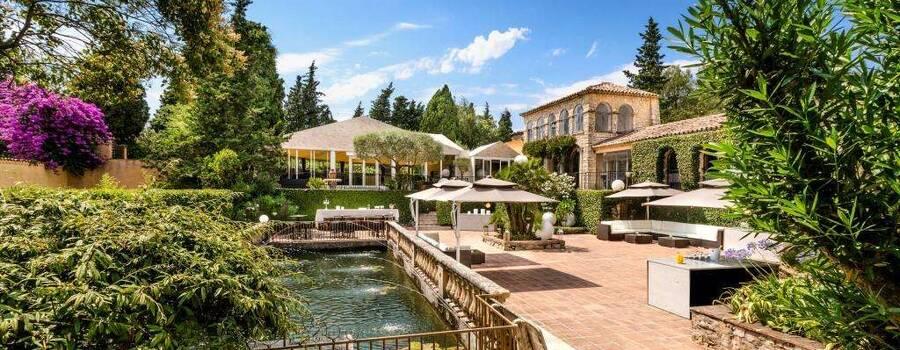 Le Park Cannes Mougins - Terrasse Nenuphar