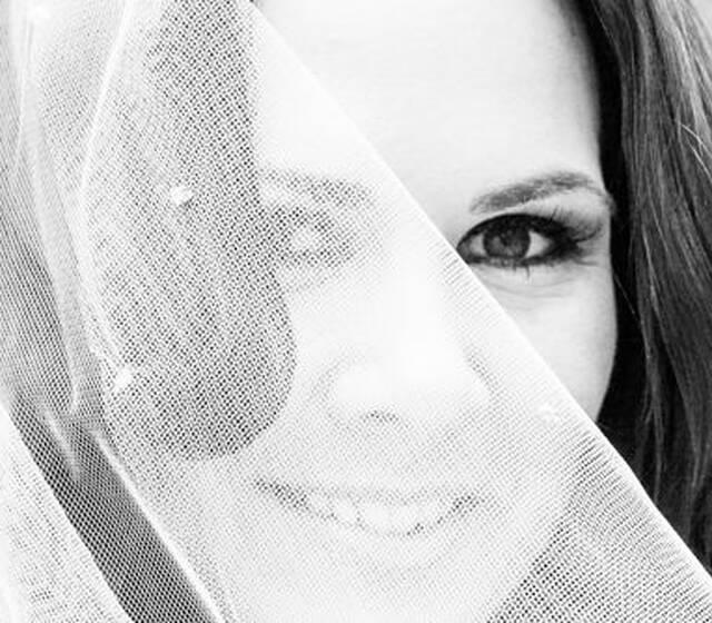 Beispiel: Portrait der Braut, Foto: Johanna Krämer Fotografie.