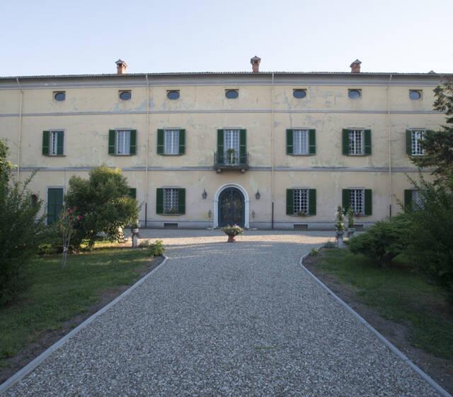 Facciata, Villa di Settima