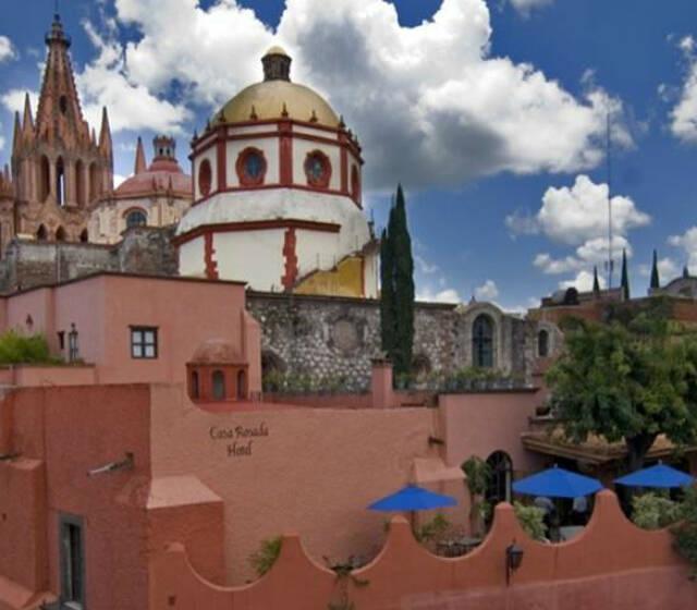 Hotel Casa Rosada en San Miguel de Allende.