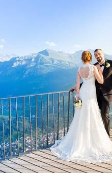 Maryna&Vitalij, Hochzeit in Interlaken, Harder Kulm