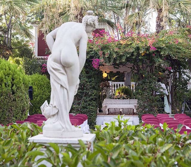 Boda Civil. Jardines Salón Versalles. Hacienda Azahares