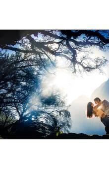 Llanganuco como destino de pre boda