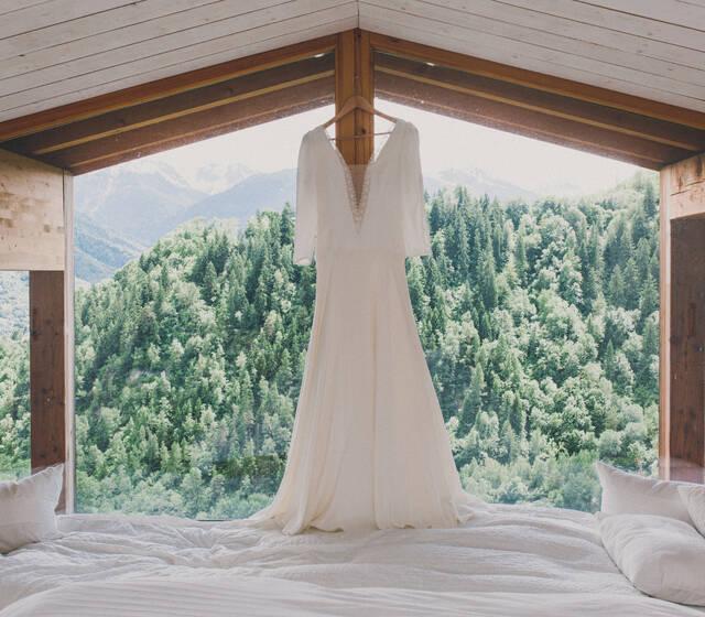 Odile Léonard Robe de mariée