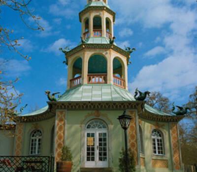 Beispiel: Außenansicht, Foto: Restaurant & Café Drachenhaus.