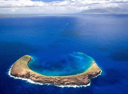 Tauchen Molokini Krater