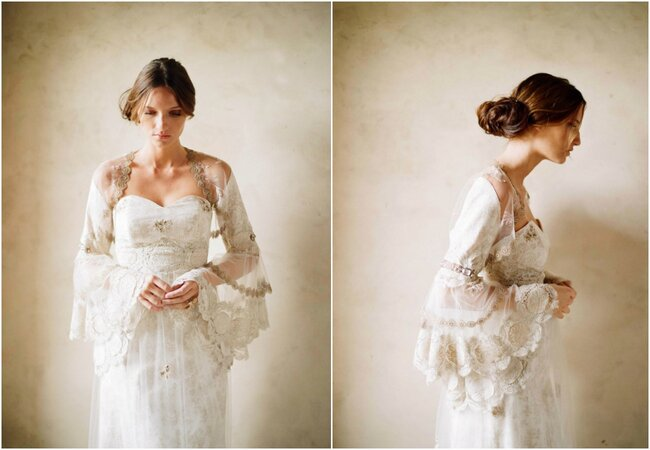 1900: Victorian style gown