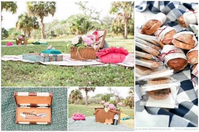picknick statt hochzeitsbuffet frische ideen f r die schlichte heirat im freien. Black Bedroom Furniture Sets. Home Design Ideas