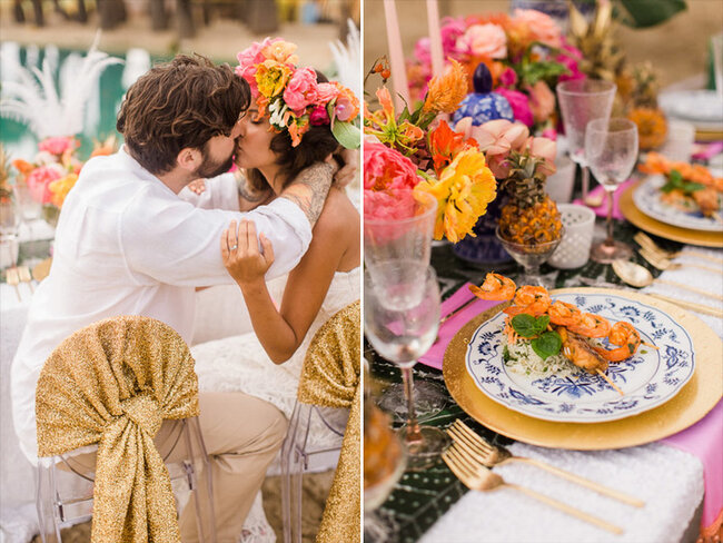Caribbean Wedding Favor Ideas: Getting Married In The Caribbean? Inject Some Color Into