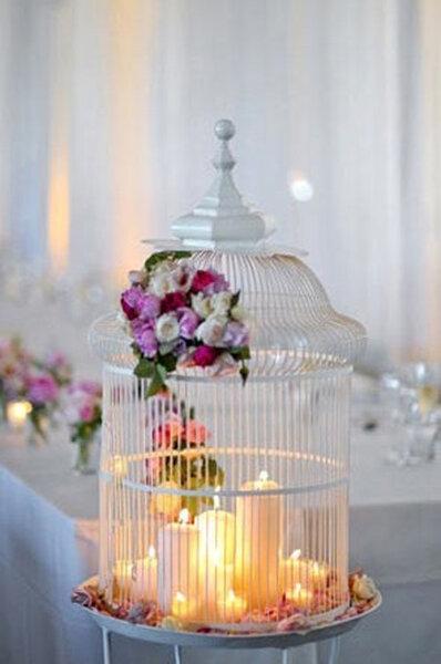 Detalles para decorar tu boda jaulas antiguas - Detalles para decorar ...