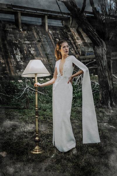 Vestidos de noiva com corte recto 2018