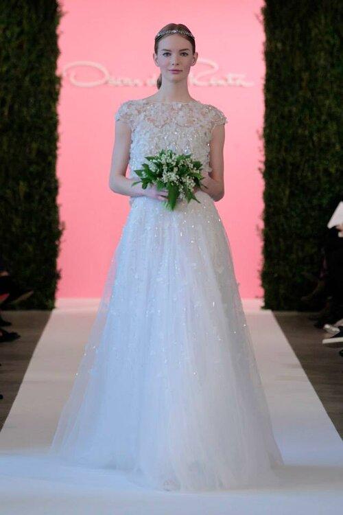 Los 62 vestidos de novia de Oscar de la Renta que nunca olvidaremos