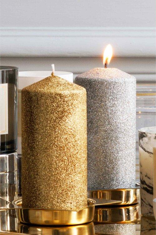 Hochzeitsfarbe gold in sachen dekoration einrichtung brautlook glamour pur - Dekoration gold ...
